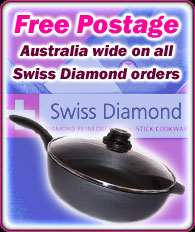Free Postage on Swiss Diamond orders